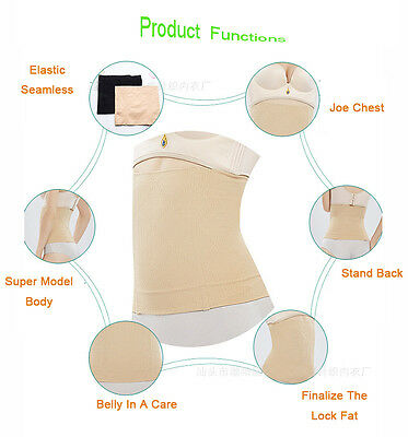 Lady Body Shaper Belly Band Slimming Corset Girdle Postpartum Recovery Belt New