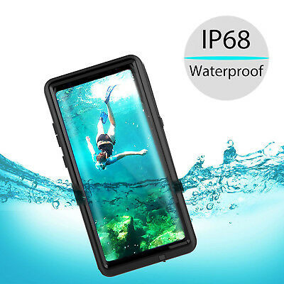 Samsung Galaxy Note 8 Waterproof Shockproof Heavy Duty Carbon Fiber Fitted Case