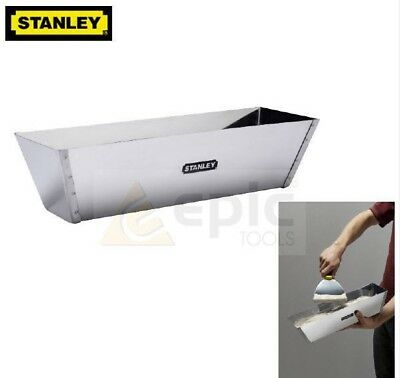 "Stanley 12"" Stainless Steel Mud Pan For Plastering/Plasterers DryWall, 005867"