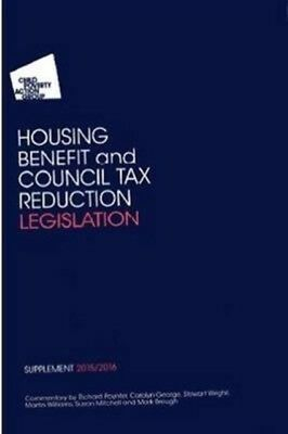 CPAG'S HOUSING BENEFIT AND COUNCIL TAX, George, Carolyn, 97819107...