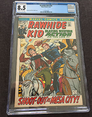 Rawhide Kid #104 CGC 8.5 OW/W Picture Frame Cover