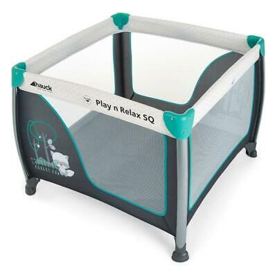 Hauck Play`n`Relax Square (Forest Fun) Portable Playpen/Travel Cot - RRP £94.99