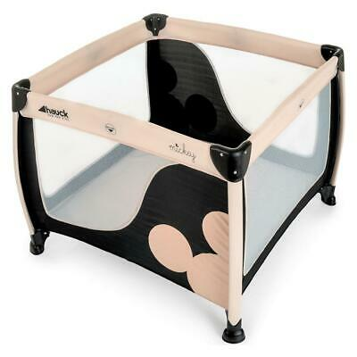 Hauck Disney Play`n`Relax Square (Mickey Charcoal) - RRP £94.99