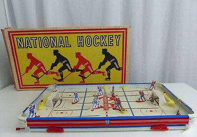 1960's National Hockey Game With Box
