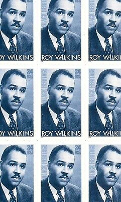 2001 - ROY WILKENS - #3501 Full Mint - MNH - Sheet of 20 Postage Stamps