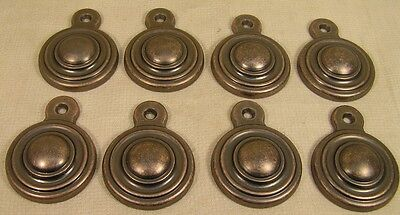8 Vintage Styl Oil Rubbed Copper Bed Bolt Screw Cover Cabinet Furniture Hardware