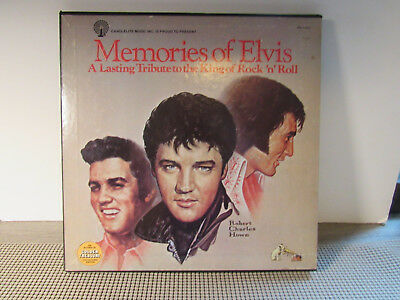Memories Of Elvis Candleite Music In 5 Record Set Vg++