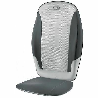 HoMedics SBM-380H-GB Heated Shiatsu Dual Back Massage Chair Cushion Massager