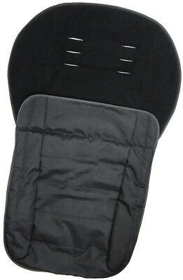 NEW Tesco Cosytoes Universal Fleece Lined Polyester Foot Muff - Black
