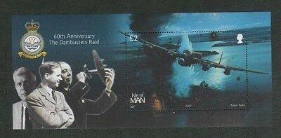 Isle of Man 2003 Dambusters Mint MH Mini Sheet MS1073