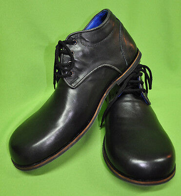 ZYKO Professional Real Leather Clown Shoes Chaplin Black model (ZH003)