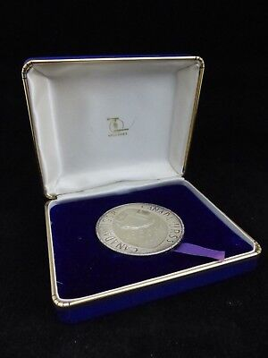 1972 Canada Vs Russia Series Sterling Silver Medal With Box