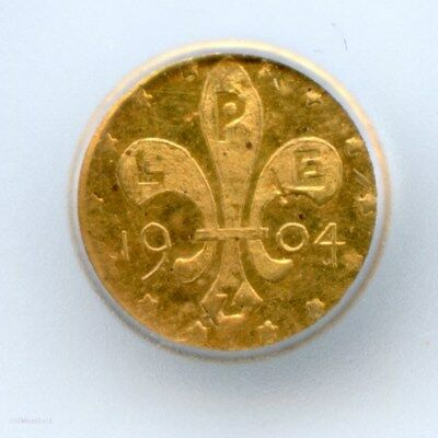 1904 RD G50C Louisiana Purchase Expo Gold Token / ICG MS60PL