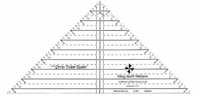 Strip Tube Ruler, Cozy Quilt Designs CQD05001