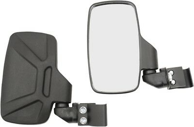 Moose Side View Mirrors Black Polaris Ranger 900 XP 2013-2017