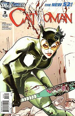 Catwoman Comic 3 DC 2012 New52 Winick March No One Can Find Any Piece Of Me Here