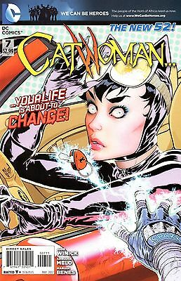 Catwoman Comic 7 DC 2012 New 52 Winick Melo Benes  No Harm In Taking A Good Look