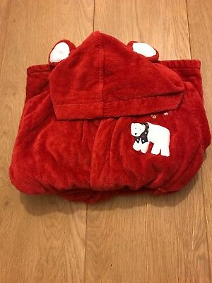 Babys John Lewis Christmas dressing gown age 9-12 months