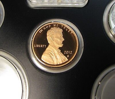 2012-S Lincoln Proof Cent Gem Ultra Deep Cameo