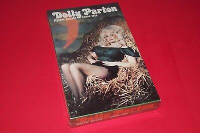RARE sexy DOLLY PARTON 1978 JIGSAW PUZZLE 200 PC MINT / SEALED / NEW OLD STOCK