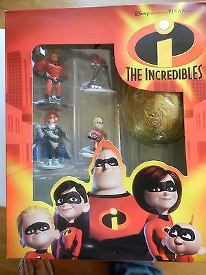 The Incredibles collectable figures