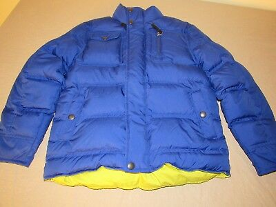 REI Down Puffer Coat Blue Boys Size Small or 8