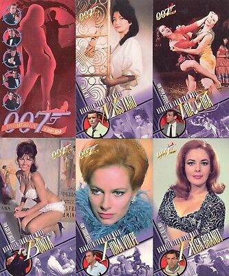 The Women Of James Bond Widevision 1997 Inkworks Base Card Set Of 72 Movie
