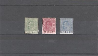 Bahamas 1906 Kevii 1 X Sg71,72,73 Mnh/mlh Lovely Kings Head Stamps