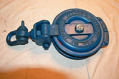 """Brewer Titchener 4 Ton Snatch Block with 8"""" Pulley"""