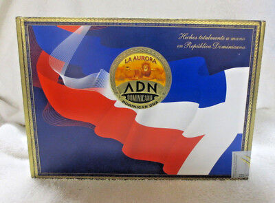 La Aurora Dominican Dna Gran Toro Paper Covered Wood Cigar Box -  Beautiful!