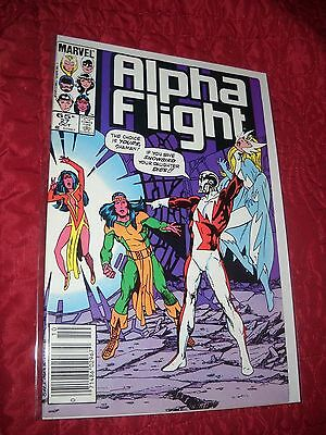 Alpha Flight # 27 Tough 6.5 Fn+ 1985 John Byrne