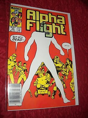 Alpha Flight # 25 Tough 6.5 Fn+ 1985 John Byrne