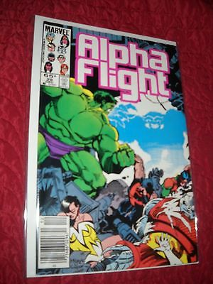 Alpha Flight # 29 Tough 6.5 Fn+ 1985 Hulk