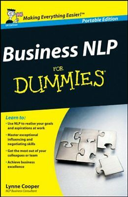 Business Nlp for Dummies UK Edition Whs by Cooper, Lynne Book The Cheap Fast