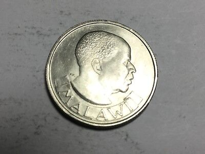 MALAWI 1964 six pence coin uncirculated