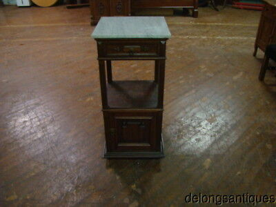 46800:Victorian Marble-Top Side or Night-Stand
