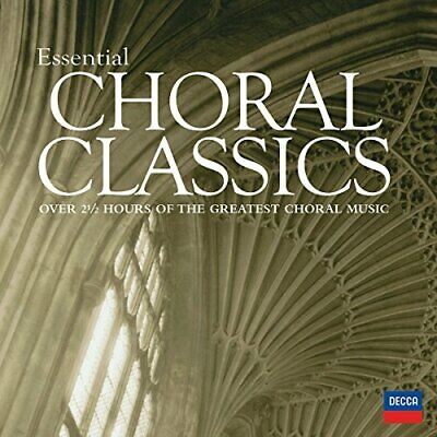 Various Artists - Essential Choral Classics - Various Artists CD 40VG The Cheap