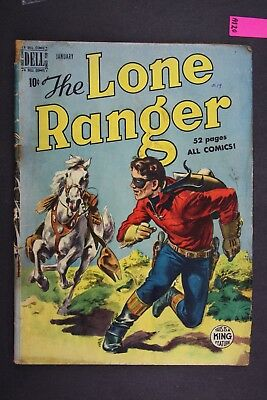The LONE RANGER #19 Vintage Western Dell Comic Book 1950 A120