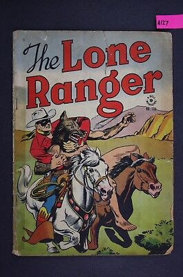 The LONE RANGER #136 Vintage Western Dell Comic Book 1947 A127