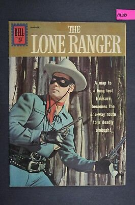 The LONE RANGER #143 Vintage Western Dell Comic Book 1962 A130