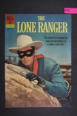 The LONE RANGER #145 Vintage Western Dell Comic Book 1962 A131