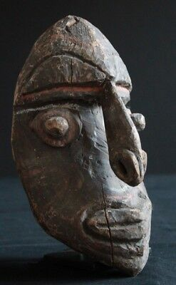 Old Expressive Kwoma Mask With Beautiful Pigments