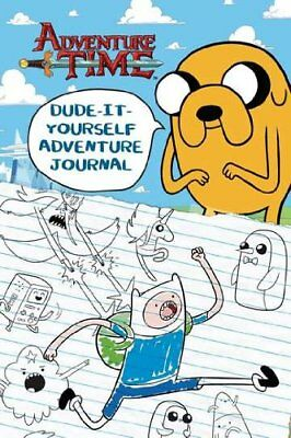 Dude-It-Yourself Adventure Journal (Adventure Time) by Mayer, Kirsten Book The