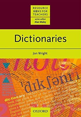 Dictionaries (Resource Books for Teachers) by Wright, Jonathan Paperback Book