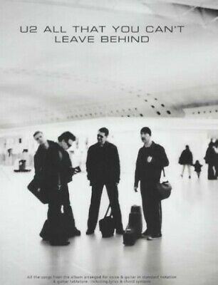 """U2: """"All That You Can't Leave behind"""" (Tab) by U2 Paperback Book The Cheap Fast"""