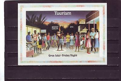 a118 - ST LUCIA - SGMS918 MNH 1986 TOURISM - FRIDAY NIGHT
