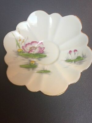 Paragon Multi Sided Squarish Saucer Only Water Lily For Flower Handle Cup