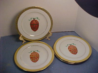 Four Faberge Imperial Egg Christmas Gold Buffet Royal Gallery