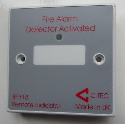 Remote Led Fire Alarm Indicator For Concealed Detectors C-Tec Bf318
