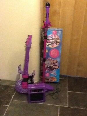 Disney Hannah Montana stage show Guitar set.
